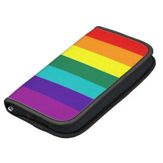 7 Stripes Rainbow Gay Pride Flag Rickshaw Folio Organizers