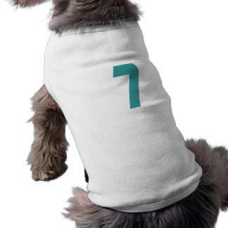 7 Teal Bold Pet Clothing