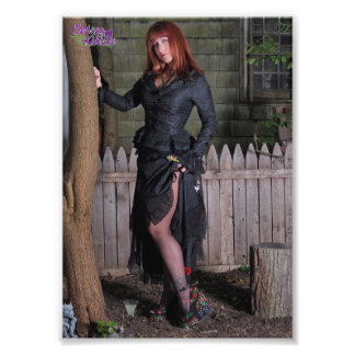 """7"""" x 5"""" Chrissy Kittens The Witch Is Way In Photo Print"""