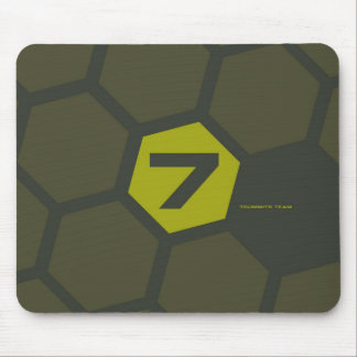 7Summits Hive Olive Mouse Pad