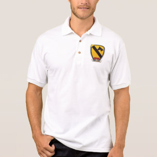 7th 1st Cavalry Division Air Cav vietnam nam war Polo Shirt