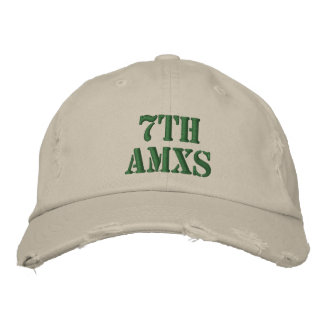 7th AMXS Embroidered Hats