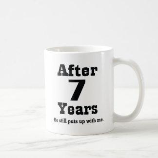 7th Anniversary (Funny) Mug