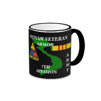 7th Armor Division Vietnam Veteran Coffee Mugs