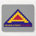 7th Army - Seven Steps To Hell - Pad Mouse Pad