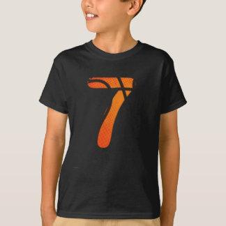 7th Birthday Basketball Shirt