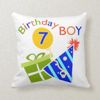 7th Birthday - Birthday Boy Cushions