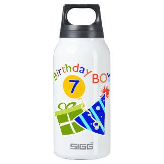 7th Birthday - Birthday Boy Insulated Water Bottle