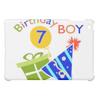 7th Birthday - Birthday Boy iPad Mini Covers
