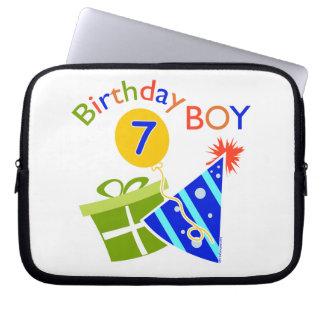7th Birthday - Birthday Boy Laptop Computer Sleeves