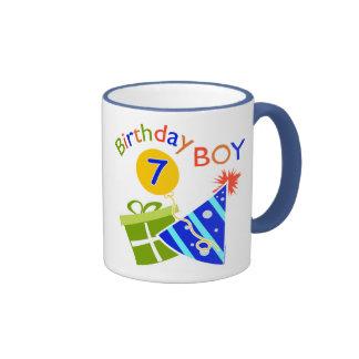 7th Birthday - Birthday Boy Coffee Mugs