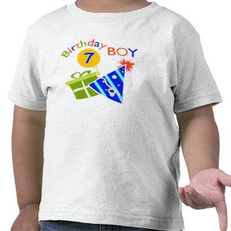 7th Birthday - Birthday Boy Tshirts