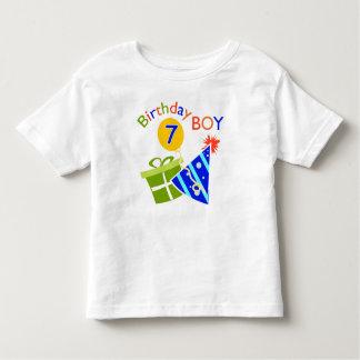 7th Birthday - Birthday Boy Tee Shirts