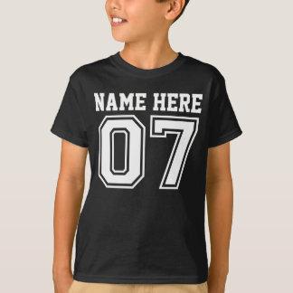 7th Birthday (Customizable Kid's Name) T-Shirt