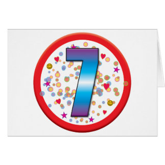 7th Birthday v2 Card