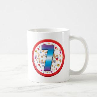 7th Birthday v2 Mugs