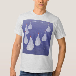 7th Day of Christmas (7 Swans a-Swimming) T Shirt