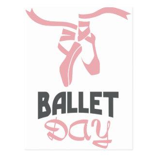 7th February - Ballet Day - Appreciation Day Postcard
