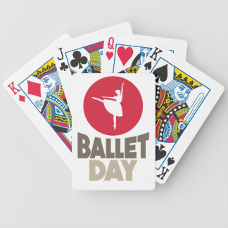 7th February - Ballet Day Bicycle Playing Cards