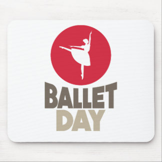 7th February - Ballet Day Mouse Pad