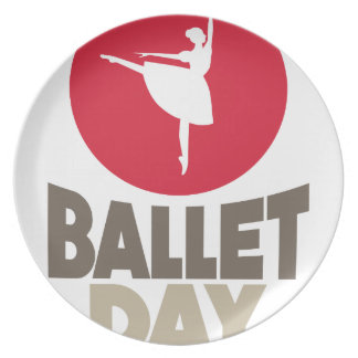 7th February - Ballet Day Plate