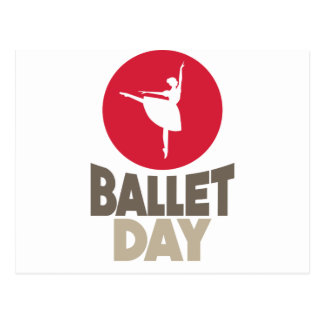 7th February - Ballet Day Postcard