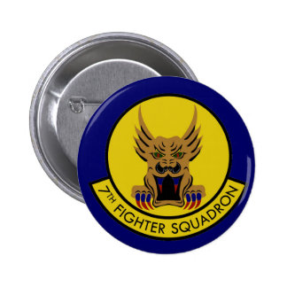 7TH FIGHTER SQUADRON AIR FORCE PIN