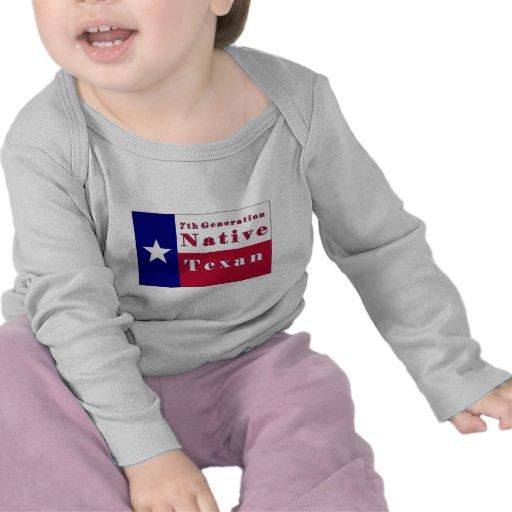 7th Generation Native Texan Flag Shirt