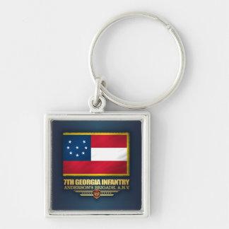 7th Georgia Infantry Key Ring