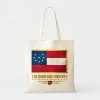 7th Georgia Infantry Tote Bag
