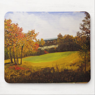 7th Hole Eagle Crest Golf Course Watercolor Mouse Pads