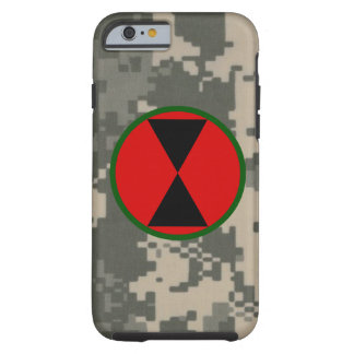 "7th Infantry Division ""Hourglass Division"" Tough iPhone 6 Case"