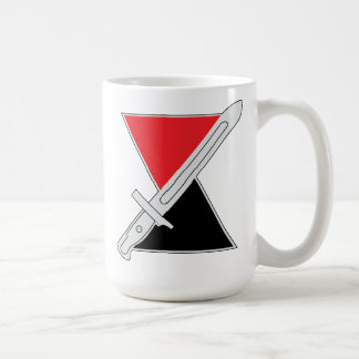 """7th Infantry Division """"Hourglass Division"""" Coffee Mug"""