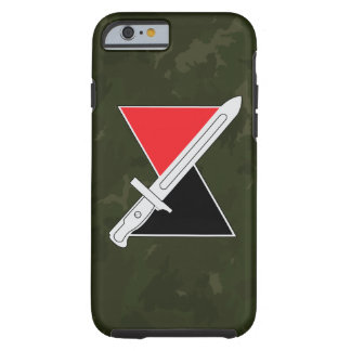 "7th Infantry Division ""Hourglass Division"" DUI Tough iPhone 6 Case"