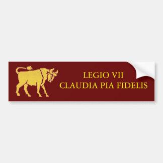 7th Legion Bumper Sticker