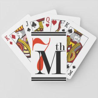 7th Material tramp Poker Deck