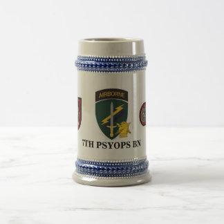 7TH PSYOPS BN STEIN COFFEE MUGS
