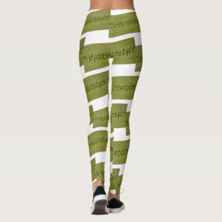 7th Quote; I don't sell products; I sell what's on Leggings