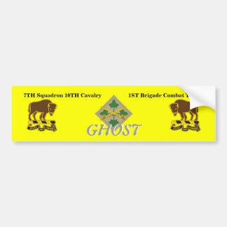 7TH Squadron 1ST BCT 4TH Inf Bumper Sticker Car Bumper Sticker