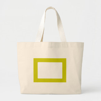 7X5 Card with Round Inside Conors Transp Gold Tote Bag