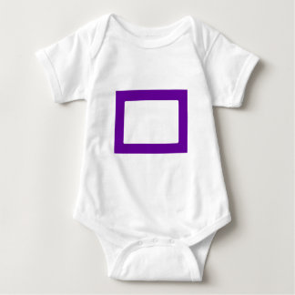 7X5 Card with Round Inside Conors Transp PurpleDk Tee Shirt