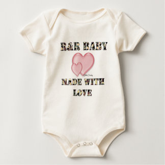 7x7Baby's made with Love by Dani Baby Bodysuit