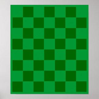 7x8 Football Chess TAG Grid (Fridge Magnets) Poster