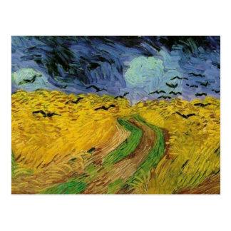 800px-vincent van gogh (1853-1890) - wheat field w postcard