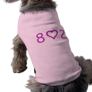 802 Doggie Ribbed Tank Top Sleeveless Dog Shirt