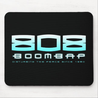 808 Boom Bap (Blue) Mouse Pad