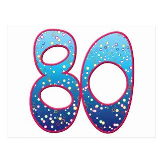 80 Age Rave Postcard