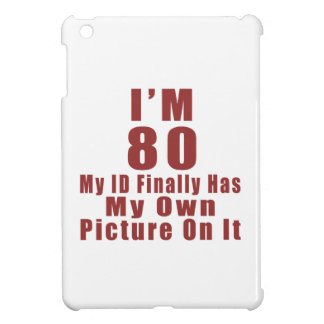 80 Birthday Designs iPad Mini Cases
