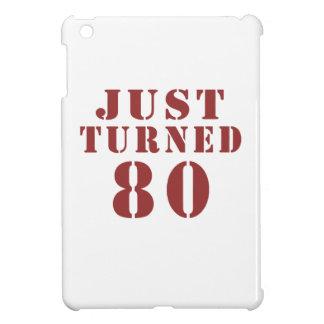 80 Just Turned Birthday iPad Mini Cover