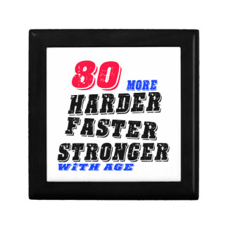 80 More Harder Faster Stronger With Age Gift Box